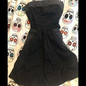 Women's cute strapless dress